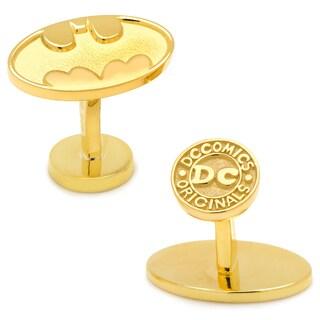 Gold Plated Sterling Batman Cufflinks