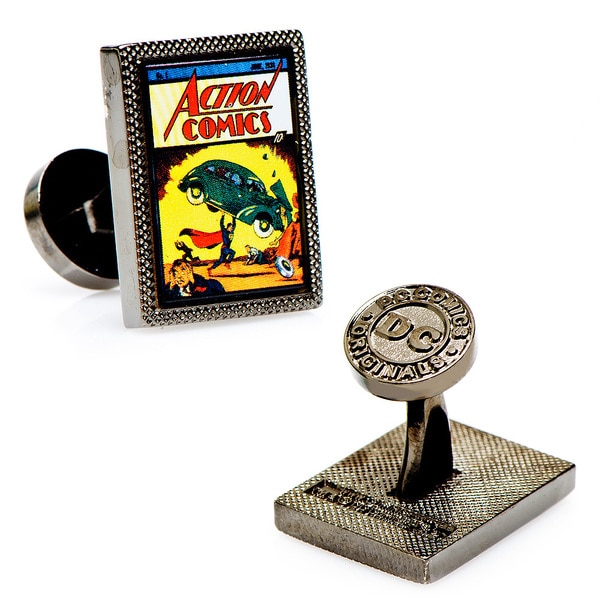 Superman Action Comics 1 Cufflinks