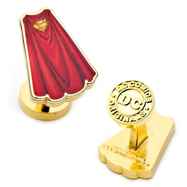 Superman Cape Cufflinks