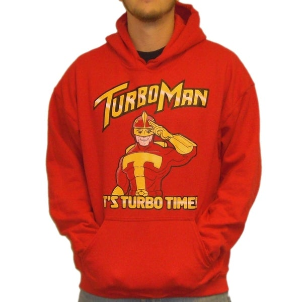 Men's Jingle All The Way Turbo Man Hoodie Sweatshirt