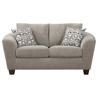 Urbana Bone Contemporary Loveseat