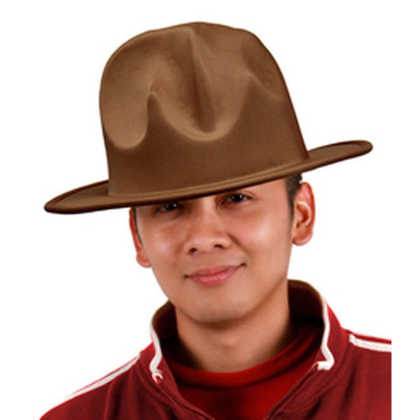 Dark Brown Fun Classic Costume Hat