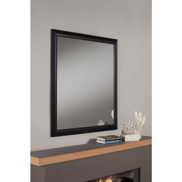 Elena Black Framed Mirror