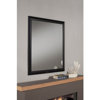 Elena Black Framed Mirror