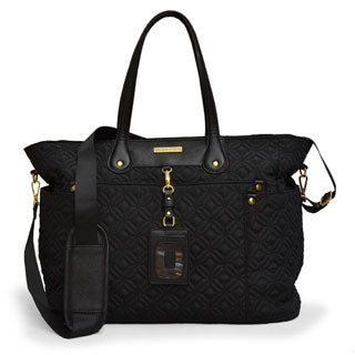 Adrienne Vittadini 17-inch East/West Quilted Laptop Tote