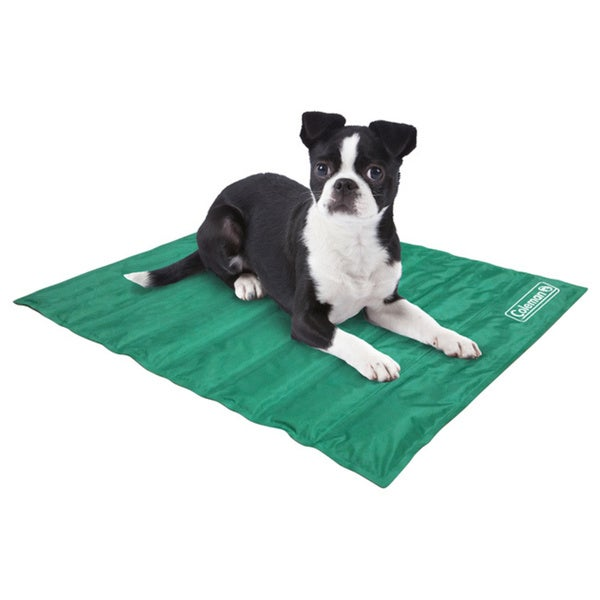 Coleman Therapeutic Comfort Cooling Gel Pet Pad Wipe Clean Easy Foldaway in Red or Green