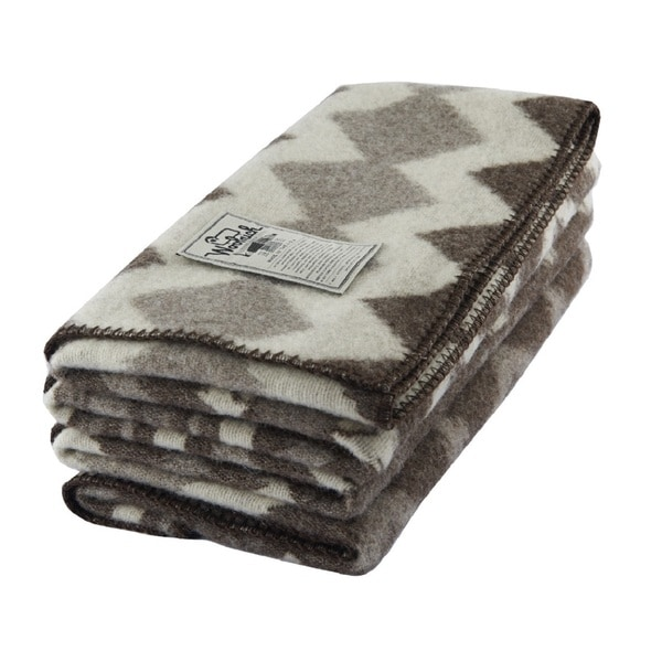 Woolrich Somerton Natural Wool Thow