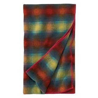 Woolrich Fawn Grove Cherry Red Throw