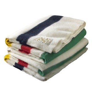 Woolrich 995080 Hudson's Bay 8-point Multi King Blanket