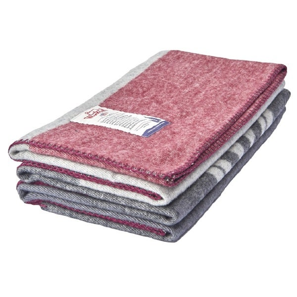 Woolrich Continental Divide Trail Jacquard Throw
