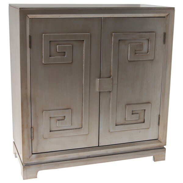 Athens 2 Door Cabinet-Champagne