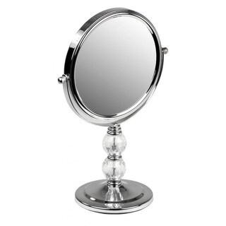 Home Basics Victorian Style Dual Sided Chrome Vanity Mirror