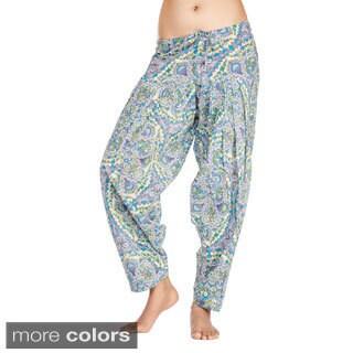 In-Sattva Women's Indian Mosaic Print Patiala Pants (India)