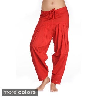 In-Sattva Women's Indian Rich Colored Patiala Pants (India)