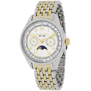 Michael Kors Women's MK6182 Amelia Round Two-tone Stainless Steel Bracelet Watch