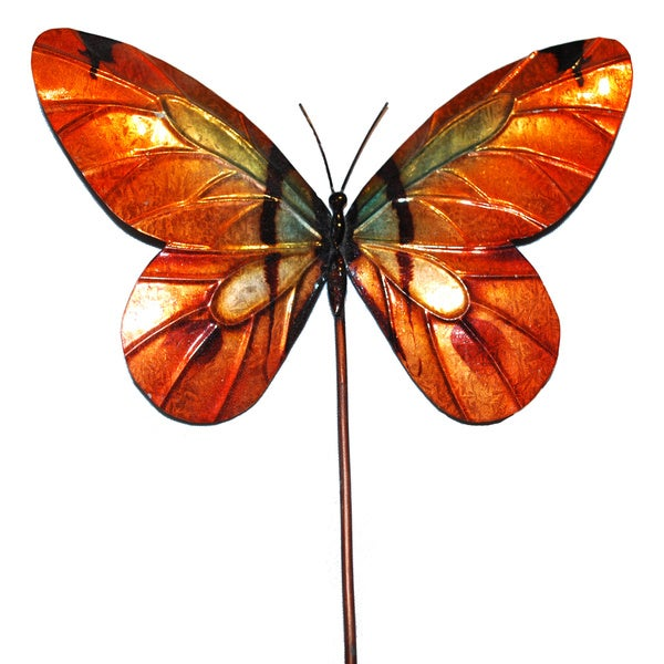 Garden Stake Butterfly Orange (Philippines)