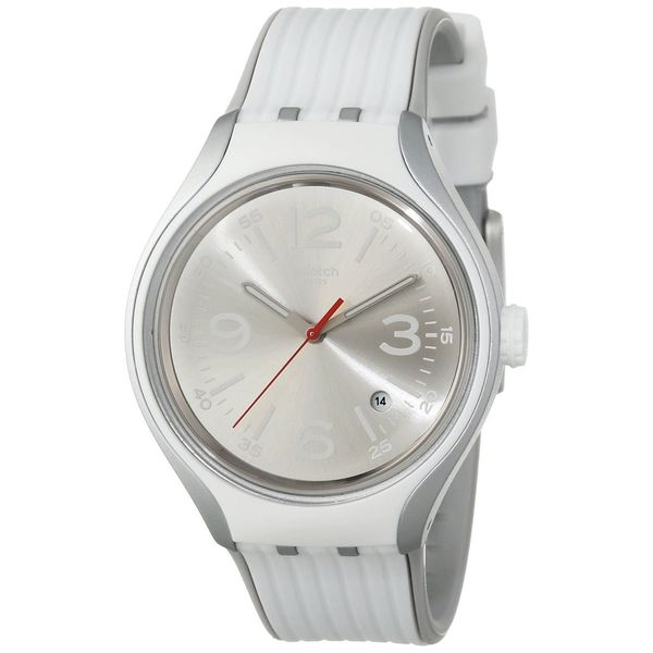 Swatch Men's YES4005 'Irony' White Silicone Watch