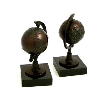 Revolving Globe Bookends