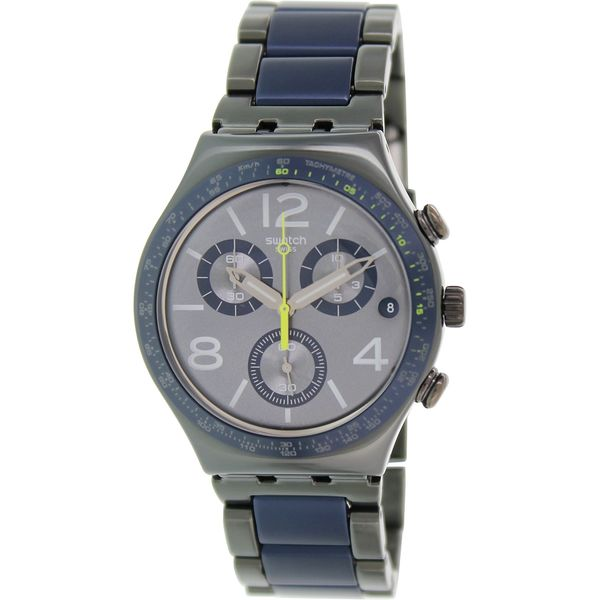 Swatch Men's YCM4006AG 'Irony' Chronograph Two-Tone Stainless Steel Watch