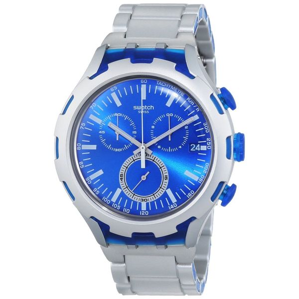 Swatch Men's YYS4001AG 'Irony' Chronograph Stainless Steel Watch