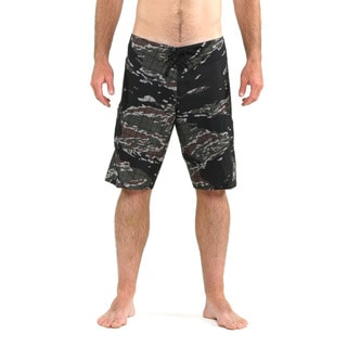 O'Neill Men's Camo and Black Hyperfreak Boardshorts
