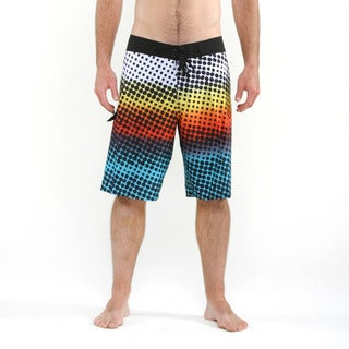 Quicksilver Men's Multi Colored Disperse Boardshorts