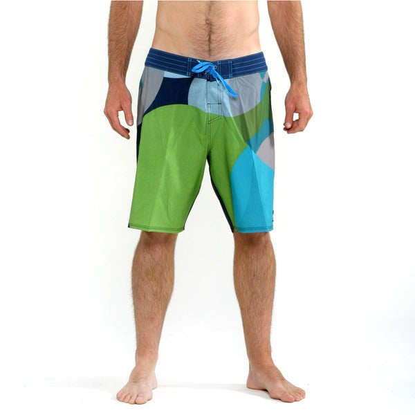 Quicksilver Men's Dress Blues Depot Run Boardshorts