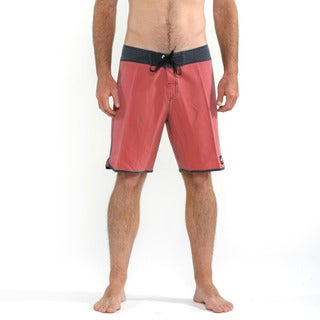 Quicksilver Men's Red OG Scallop Boardshorts