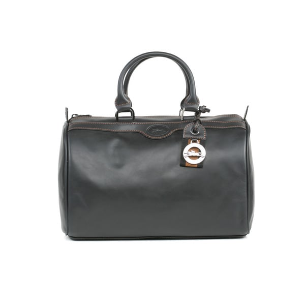Longchamp Black AU Sultan BKT Small Duffle Bag