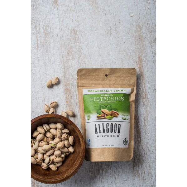 Allgood Provisions Organic Dried Fruit and Pistachio Combo