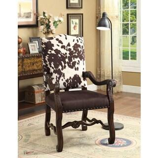 Treasure Trove Accents Byron Espresso Accent Chair