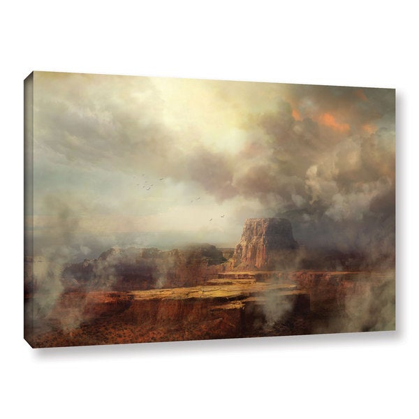 ArtWall Philip Straub 'Before The Rain' Gallery-wrapped Canvas