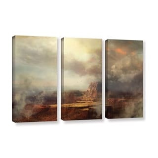 ArtWall Philip Straub 'Before The Rain' 3 Piece Gallery-wrapped Canvas Set