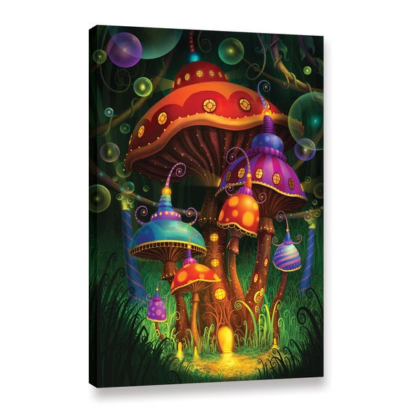 ArtWall Philip Straub 'Enchanted Evening' Gallery-wrapped Canvas