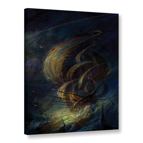 ArtWall Philip Straub 'The Apparition' Gallery-wrapped Canvas