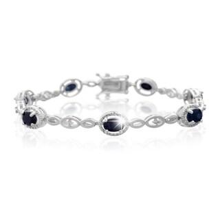 Platinum 4 1/2ct Diamond Bracelet
