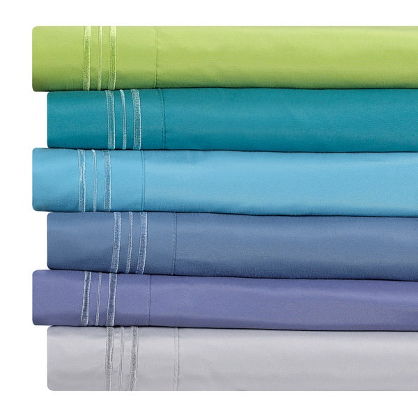 Clara Clark Bright Color Collection Bed Sheet Set 15766534