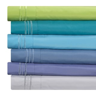 Clara Clark Pastel Collection Bed Sheet Set