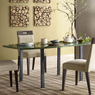 Ink+Ivy Mosaic Glass Top Dining Table