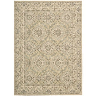 Nourison Persian Empire Light Gold Rug (5'3 x 7'5)