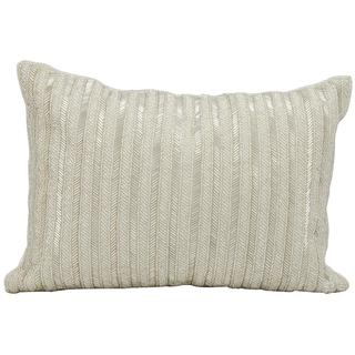 """Michael Amini by Nourison Silver Pillow (10"""" x 14"""")"""