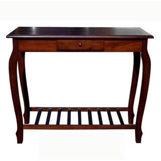 D-Art Carolina Dark Mahogony Wood Console Table (Indonesia)