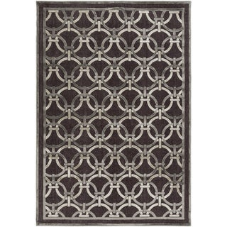 Meticulously Woven Hailsham Viscose Rug (5'2 x 7'6)