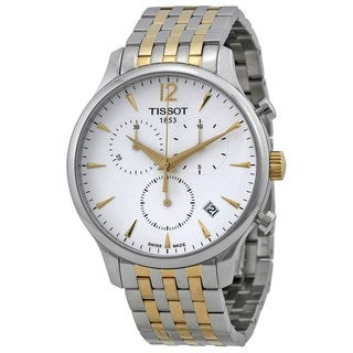Tissot Men's T0636172203700 'T-Classic Tradition' Chronograph Two-Tone Stainless Steel Watch