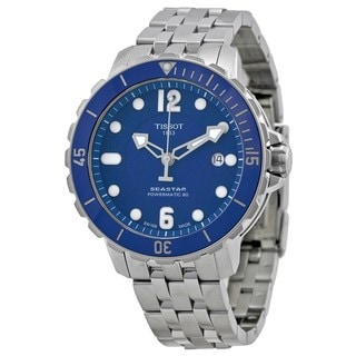 Tissot Men's T0664071104702 'T-Sport Seastar 1000' Automatic Stainless Steel Watch