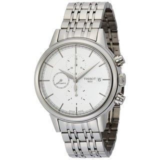 Tissot Men's T0854271101100 'Carson' Automatic Chronograph Stainless Steel Watch