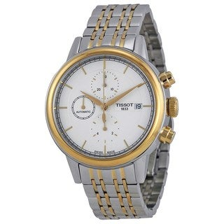 Tissot Men's T0854272201100 'Carson' Automatic Chronograph Two-Tone Stainless Steel Watch