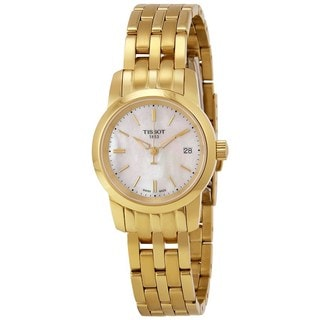 Tissot Women's T0332103311100 'Dream' Gold-Tone Stainless Steel Watch