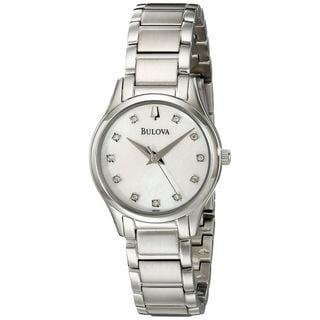 Bulova Women's 96P141 Stainless Steel Watch