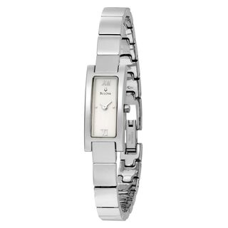 Bulova Women's 96T08 Stainless Steel Watch